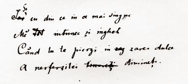 Mihai Eminescu - cronologie opera, pg 6